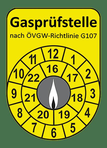 Gasprüfstelle nach ÖVGW-Richtlinie G107