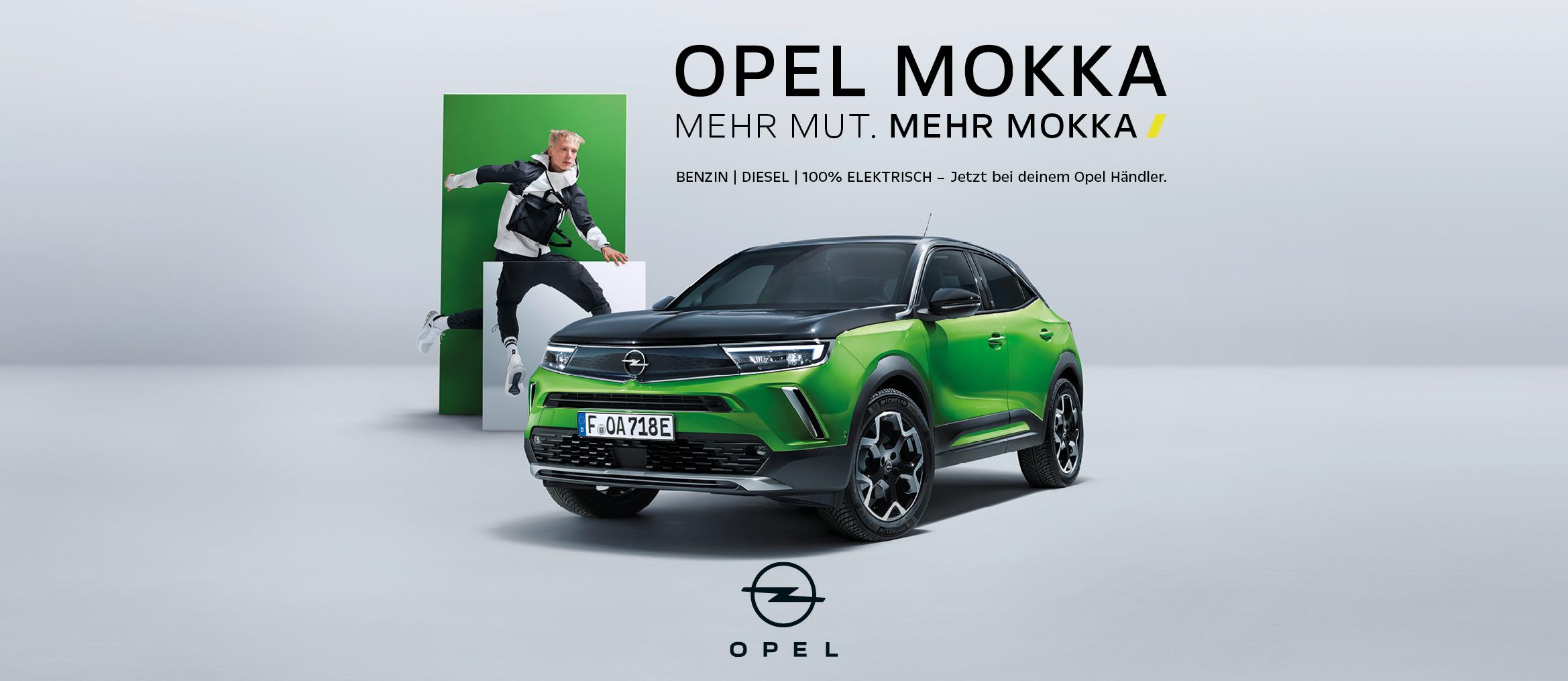 Opel Mokka - mehr Mut.