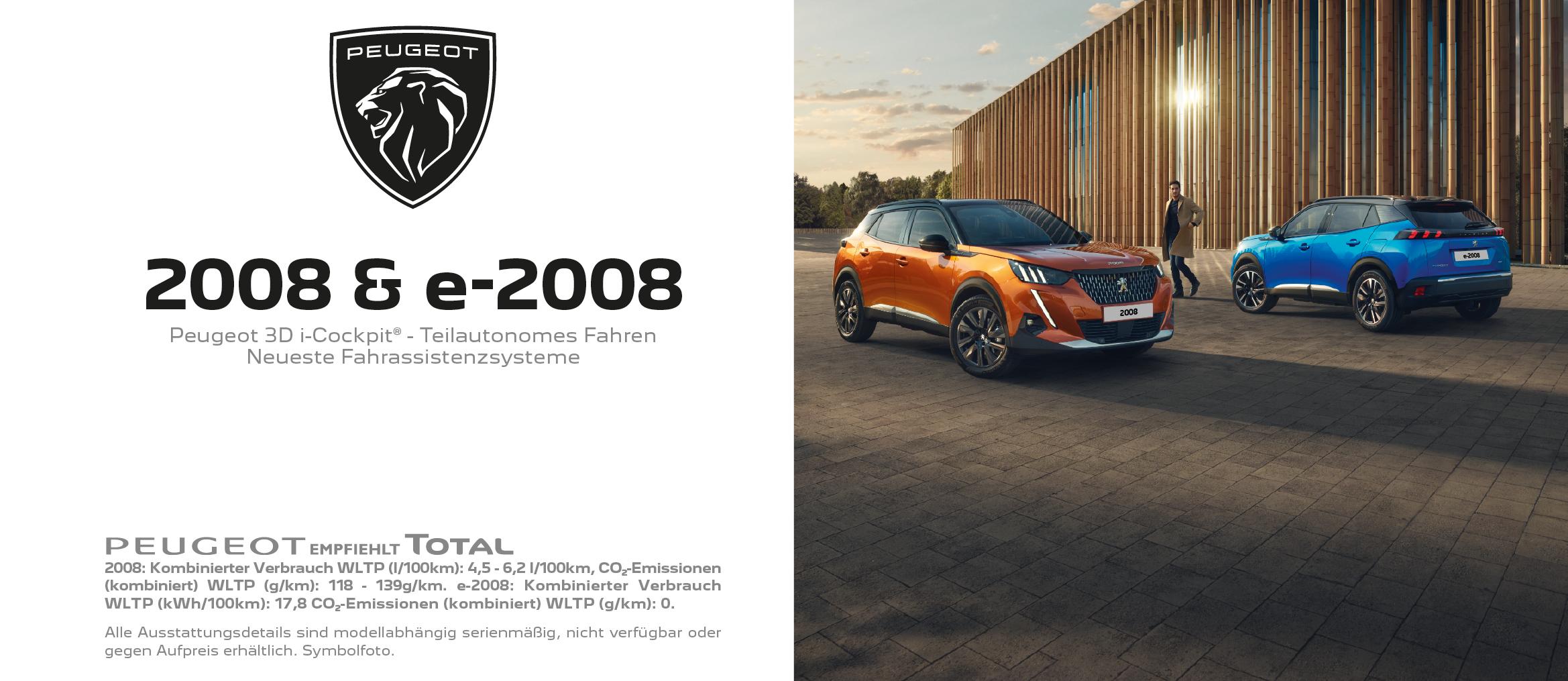 Peugeot 2008 & e-2008