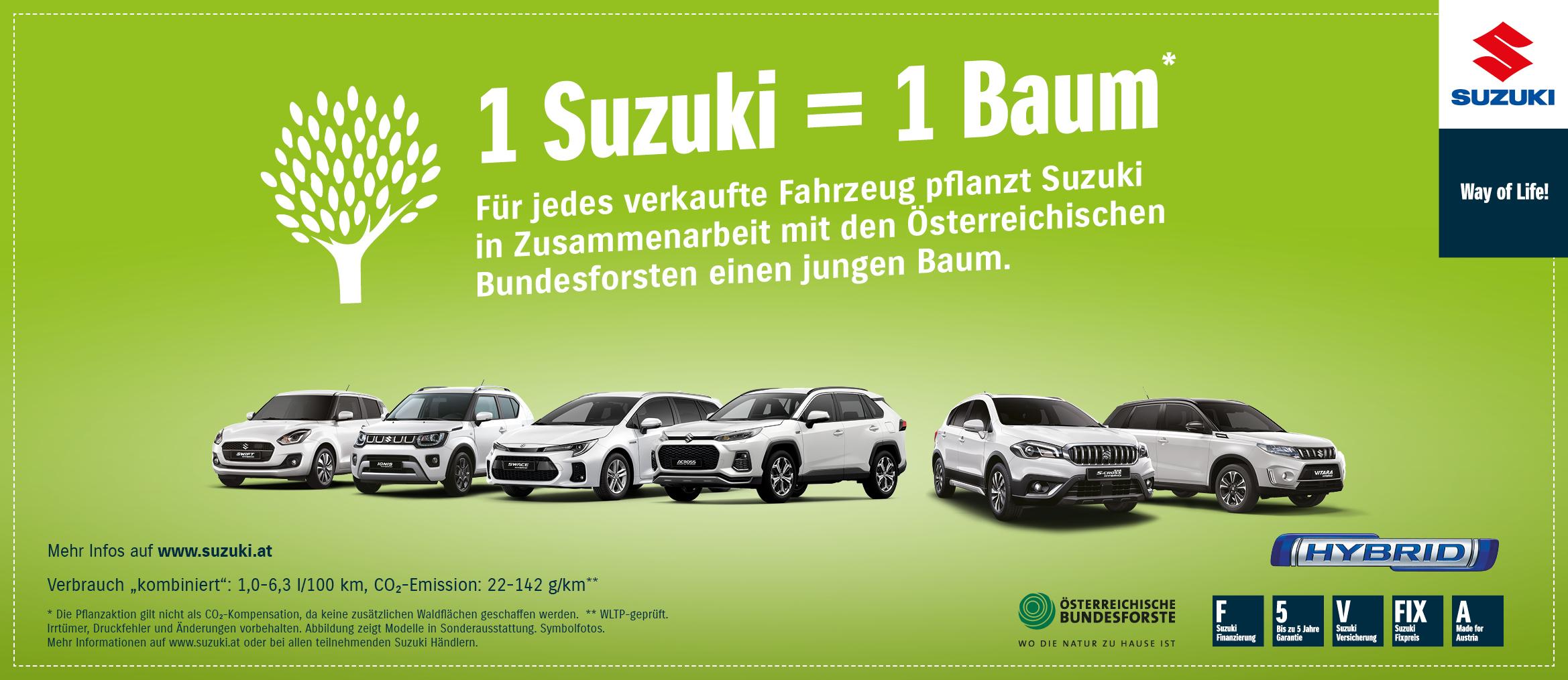 1 Suzuki = 1 Baum