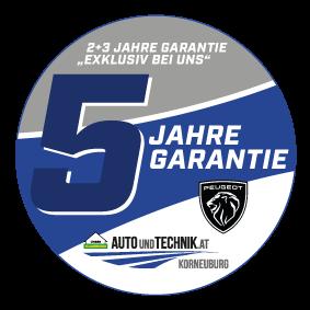 5 Jahre Garantie Autohaus Peugeot Korneuburg