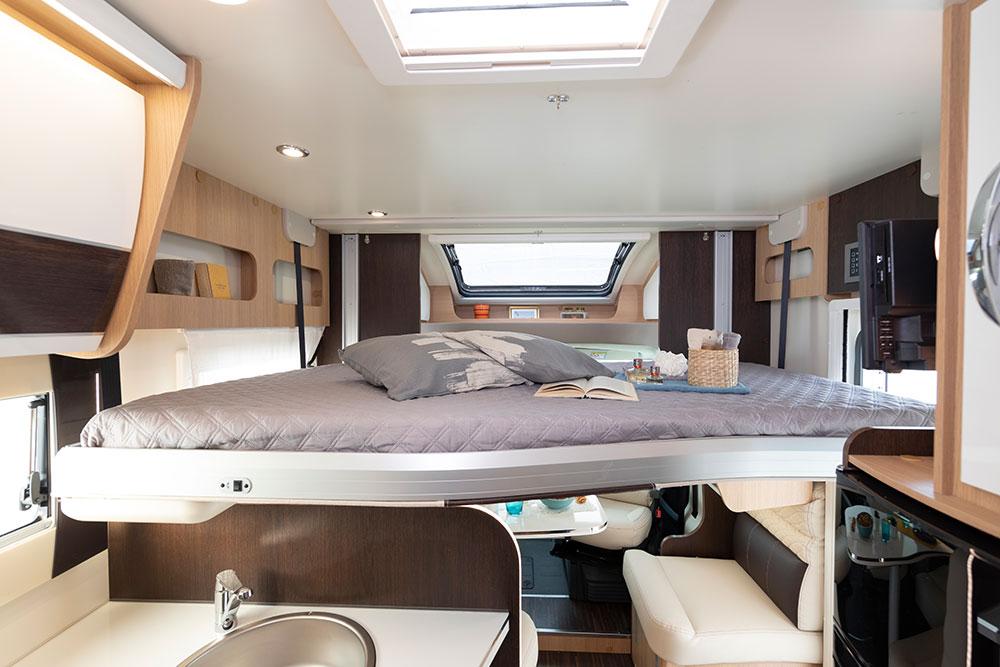 McLouis Wohnmobile Innenausstattung Schlafmöglichkeit