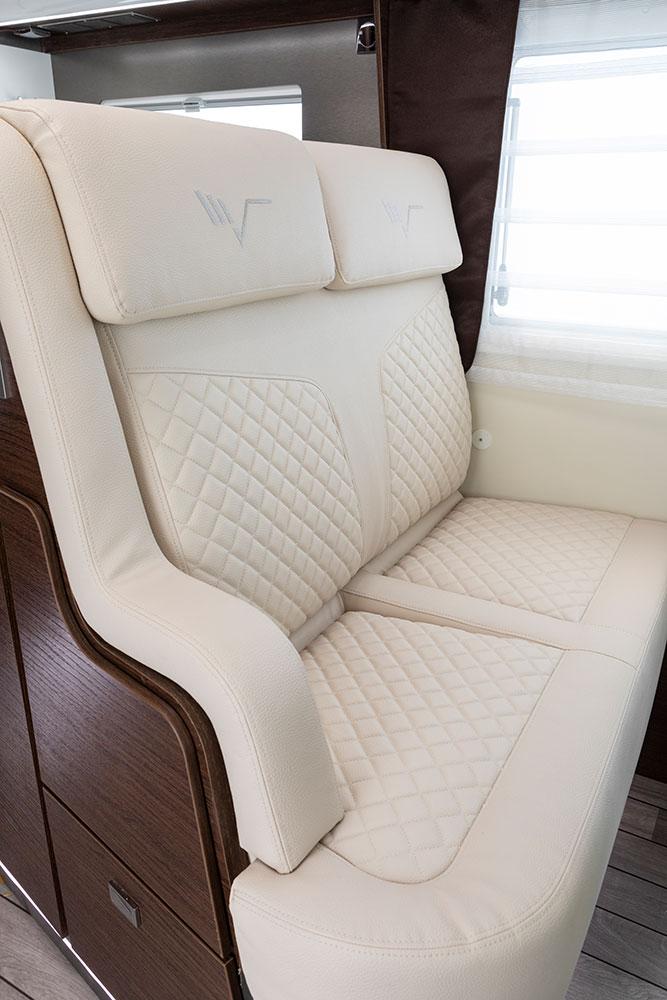 Mobilvetta Wohnmobile Innenausstattung Sitze