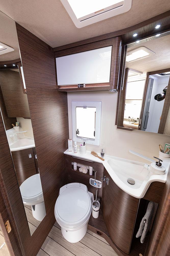Mobilvetta Wohnmobile Innenausstattung WC
