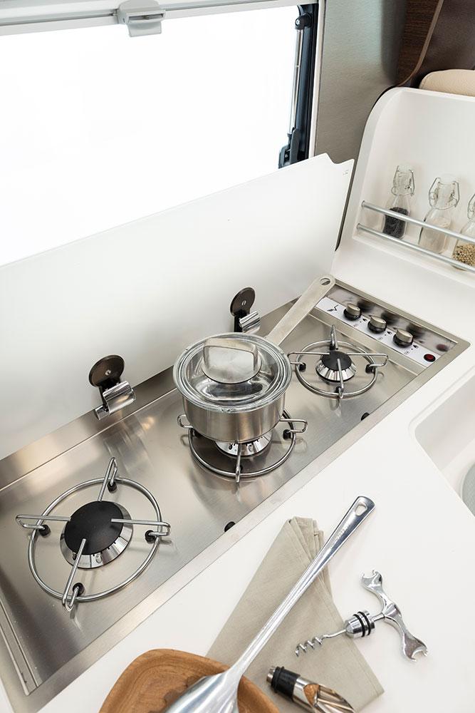 Mobilvetta Wohnmobile Innenausstattung Kochen