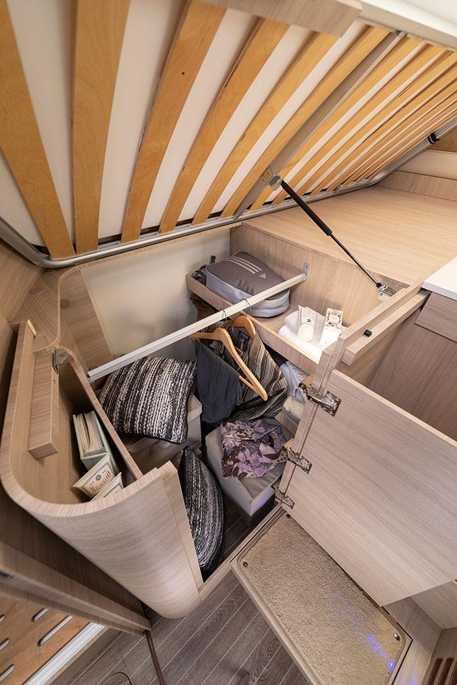 Mobilvetta Wohnmobile Innenausstattung Stauraum