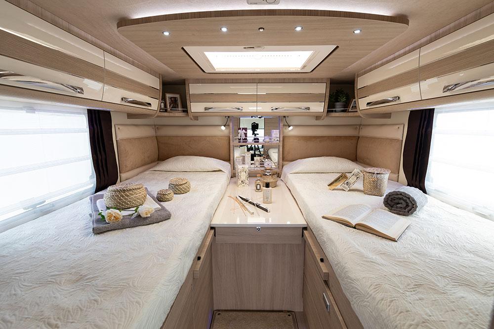 Mobilvetta Wohnmobile Innenausstattung Schlafmöglichkeit