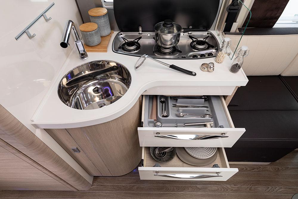 Mobilvetta Wohnmobile Innenausstattung Küche
