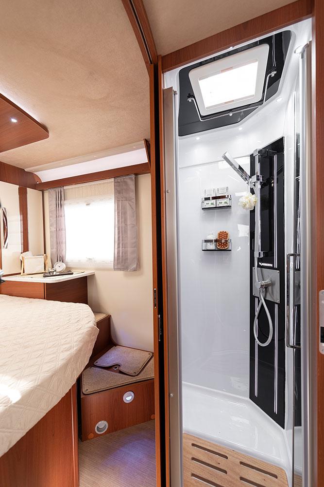 Mobilvetta Wohnmobile Innenausstattung Dusche