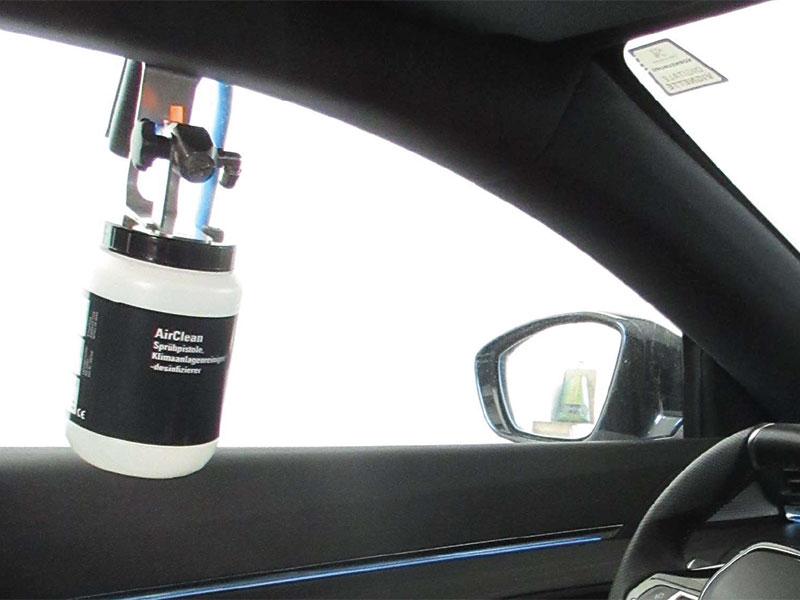 Fahrzeug Innenraum Desinfektion