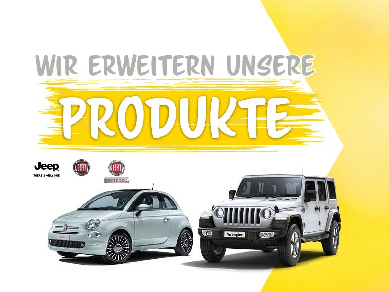 Wir erweitern unsere Produkte